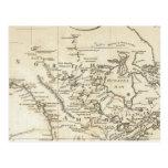 Nuevo mapa de Norteamérica Postales