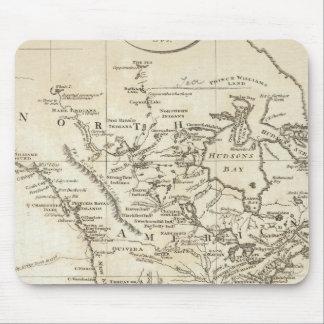 Nuevo mapa de Norteamérica Tapete De Raton