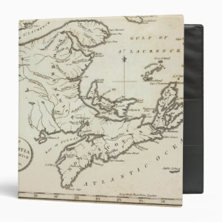 Nuevo mapa de Nueva Escocia, Nuevo Brunswick