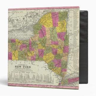 """Nuevo mapa de Nueva York 2 Carpeta 1 1/2"""""""