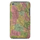 Nuevo mapa de Pennsylvania Case-Mate iPod Touch Protectores