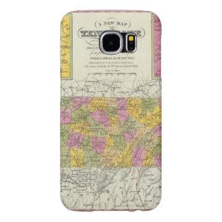 Nuevo mapa de Tennessee Funda Samsung Galaxy S6
