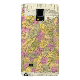 Nuevo mapa de Virginia Funda Galaxy Note 4