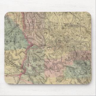Nuevo mapa del territorio de Arizona Tapetes De Raton