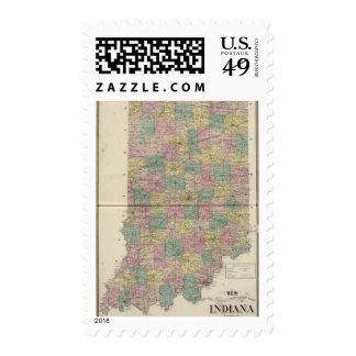 Nuevo mapa seccional y del municipio de Indiana Sellos