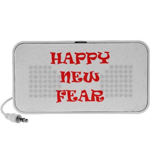 Nuevo miedo feliz mp3 altavoz