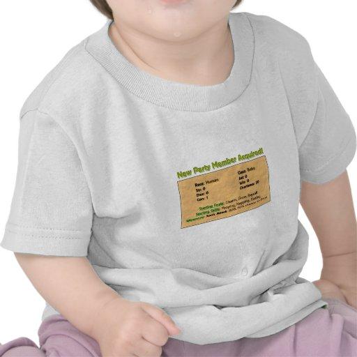 ¡Nuevo miembro del partido! Camisetas