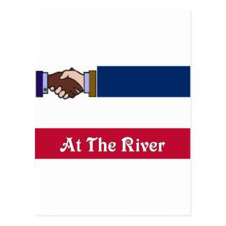 Nuevo Mississippi v2 en el río 2 Tarjeta Postal