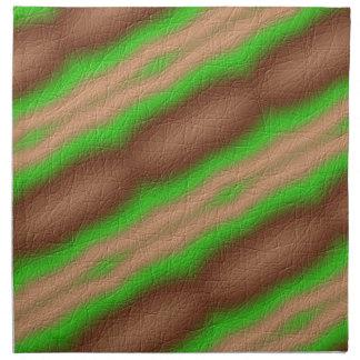 Nuevo modelo abstracto servilletas