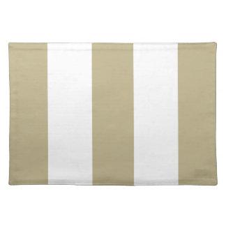 Nuevo moreno beige 2012 y regalo blanco de Placema Manteles Individuales