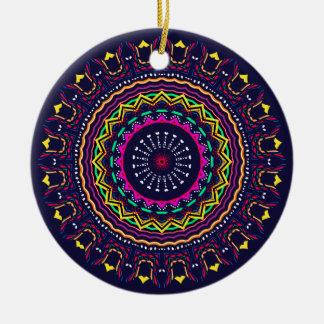Nuevo Multicolors linear Ornamento De Navidad