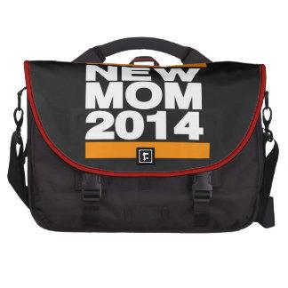 Nuevo naranja de la mamá 2014 bolsas de ordenador