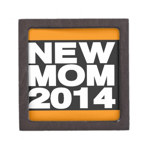 Nuevo naranja de la mamá 2014 caja de recuerdo de calidad