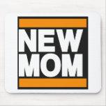 Nuevo naranja de la mamá alfombrillas de ratones