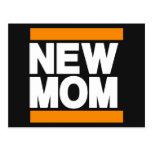 Nuevo naranja de la mamá postales