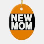 Nuevo naranja de LG de la mamá Adorno De Reyes