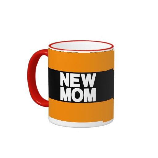 Nuevo naranja de LG de la mamá Taza A Dos Colores