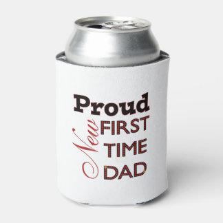 Nuevo neverita de bebidas orgulloso del papá enfriador de latas