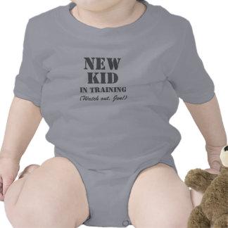 Nuevo niño en el entrenamiento de Jon - camiseta