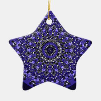Nuevo no linear 2 del azul del flujo ornamento de reyes magos
