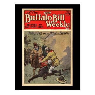 Nuevo no. semanal 204 1916 de Buffalo Bill Postal