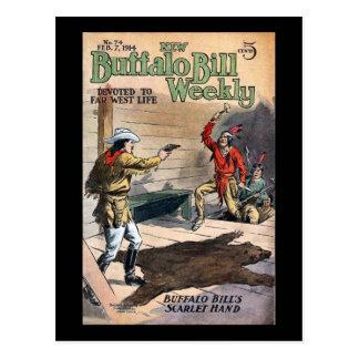 Nuevo no. semanal 74 1914 de Buffalo Bill Postal