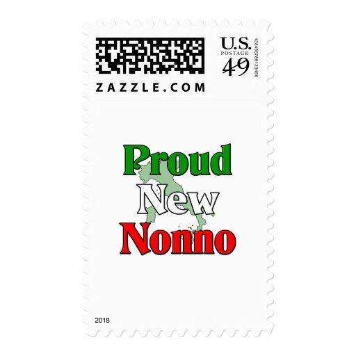 Nuevo Nonno orgulloso (abuelo italiano) Envio