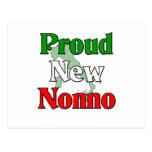 Nuevo Nonno orgulloso (abuelo italiano) Tarjetas Postales