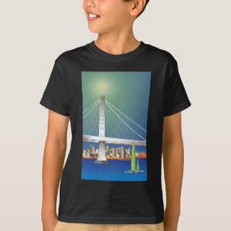 Nuevo Oakland paisaje urbano del puente de la Remera