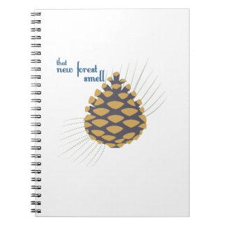 Nuevo olor del bosque notebook