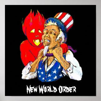 Nuevo orden mundial impresiones