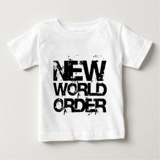 Nuevo orden mundial playera de bebé