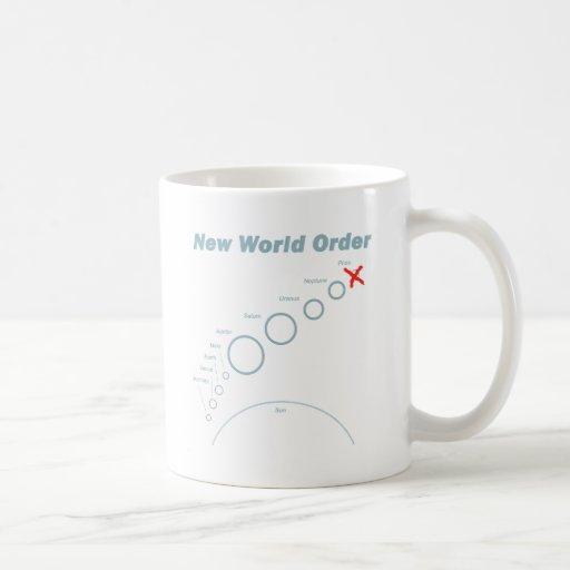 Nuevo orden mundial taza