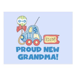 Nuevo orgulloso Abuela-es camisetas y regalos de Tarjeta Postal