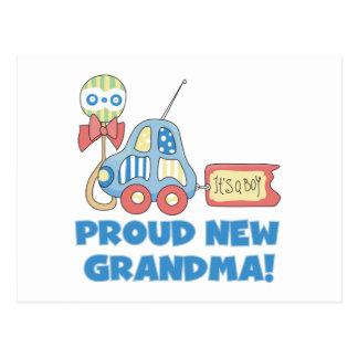 Nuevo orgulloso Abuela-es camisetas y regalos de u Tarjeta Postal