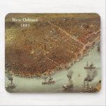 Nuevo Orleans1885 Alfombrillas De Raton