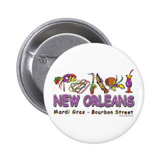 Nuevo-Orleans-Diversión Pin