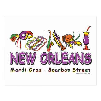Nuevo-Orleans-Diversión Postal