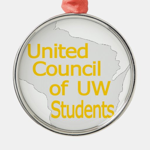 Nuevo oro unido del logotipo del consejo en gris adorno para reyes
