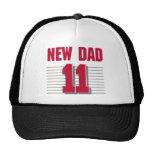 Nuevo papá 2011 gorros bordados
