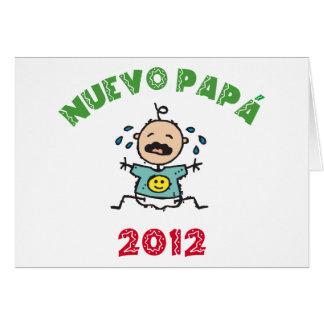 Nuevo Papa 2012 Card