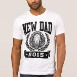 Nuevo papá 2015 camisetas