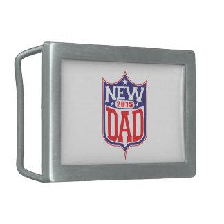 Nuevo papá 2015 hebilla de cinturon rectangular