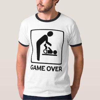 Nuevo papá a ser juego sobre la camiseta del deber