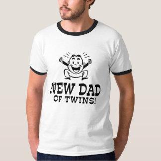 Nuevo papá de gemelos camisas