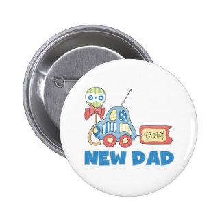 Nuevo papá del coche es un muchacho pin redondo 5 cm