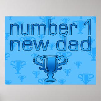 Nuevo papá del número 1 poster