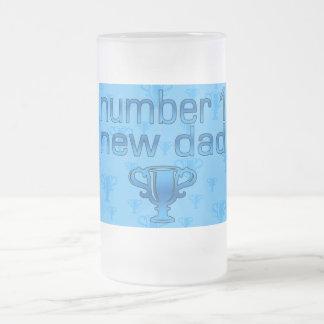 Nuevo papá del número 1 taza de café