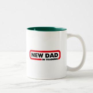 Nuevo papá en el entrenamiento - taza para un