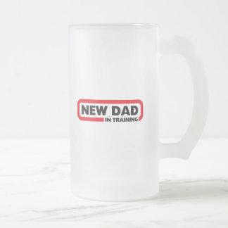Nuevo papá en el entrenamiento - una taza de